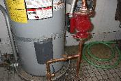 RECIRCULATION AND SUMP PUMP INSTALLATION